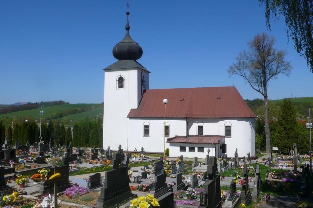 Súčasný pohľad na Visolajský kostol